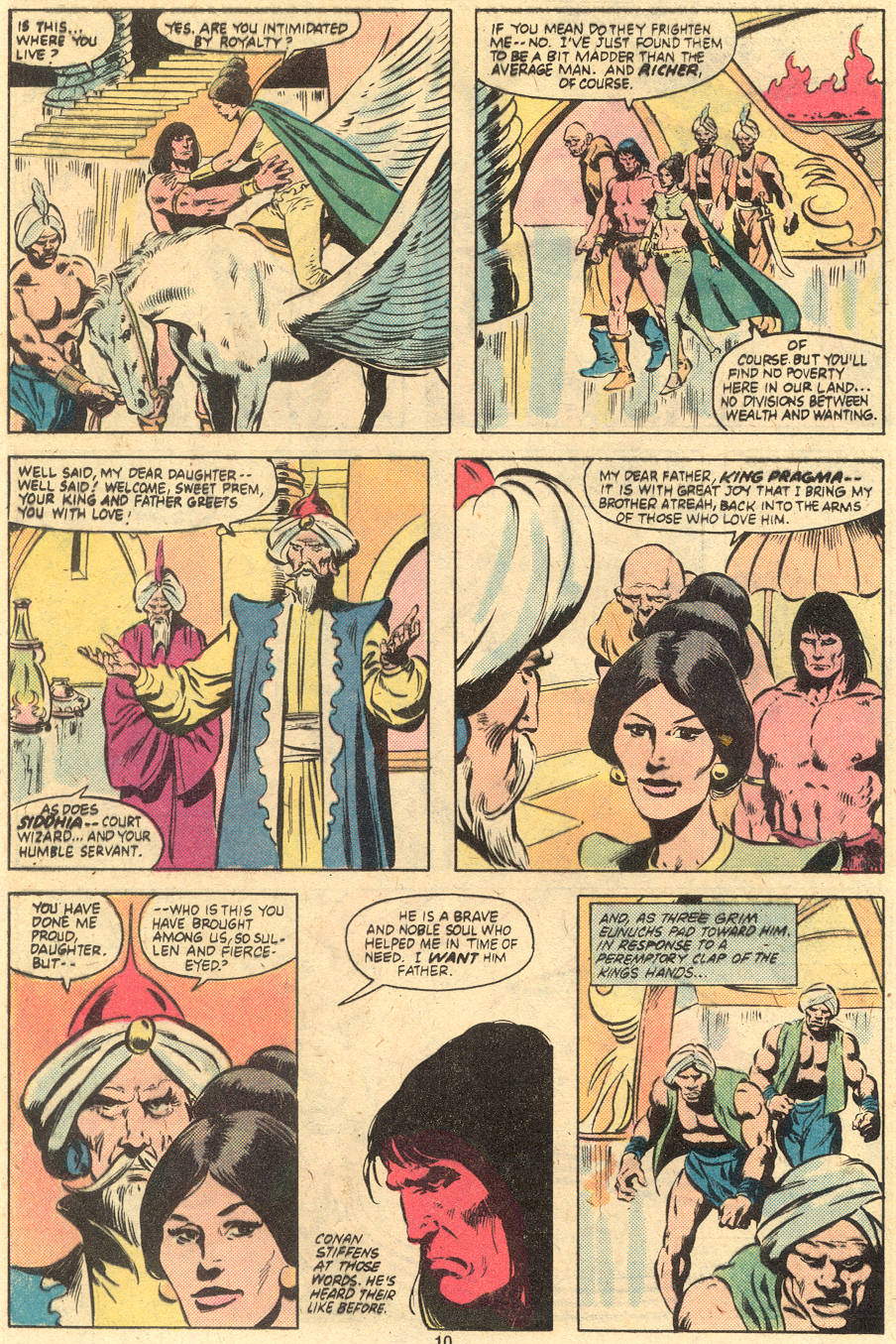 Conan the Barbarian (1970) Issue #121 #133 - English 10