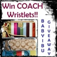 Win COACH Wristlets at BabyIbu