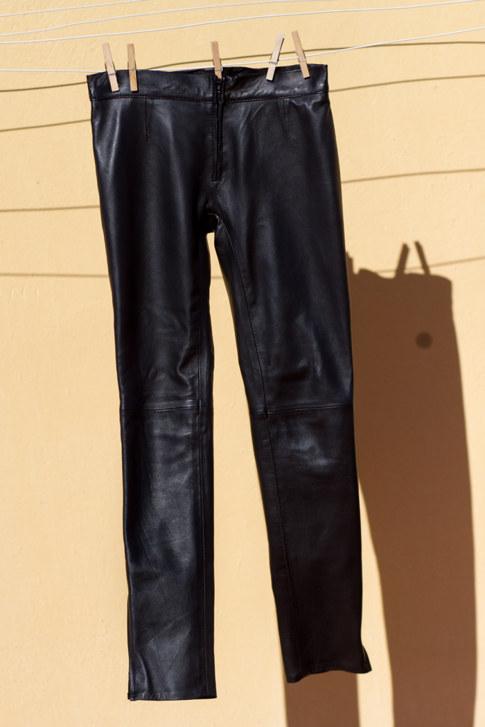 NEW IN: Gabriel Seguí Leather Pants