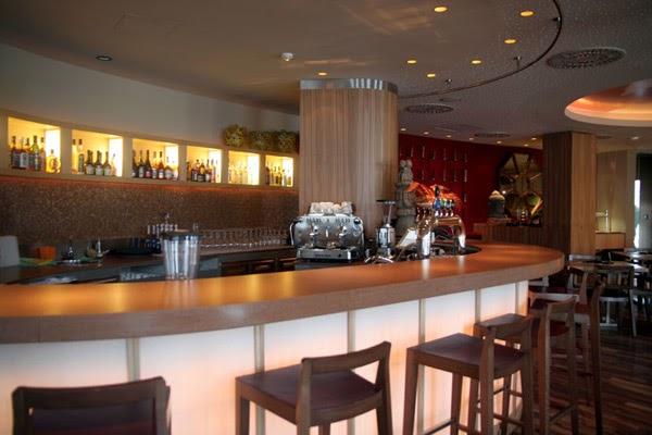 Retro coffee bar interior design making day