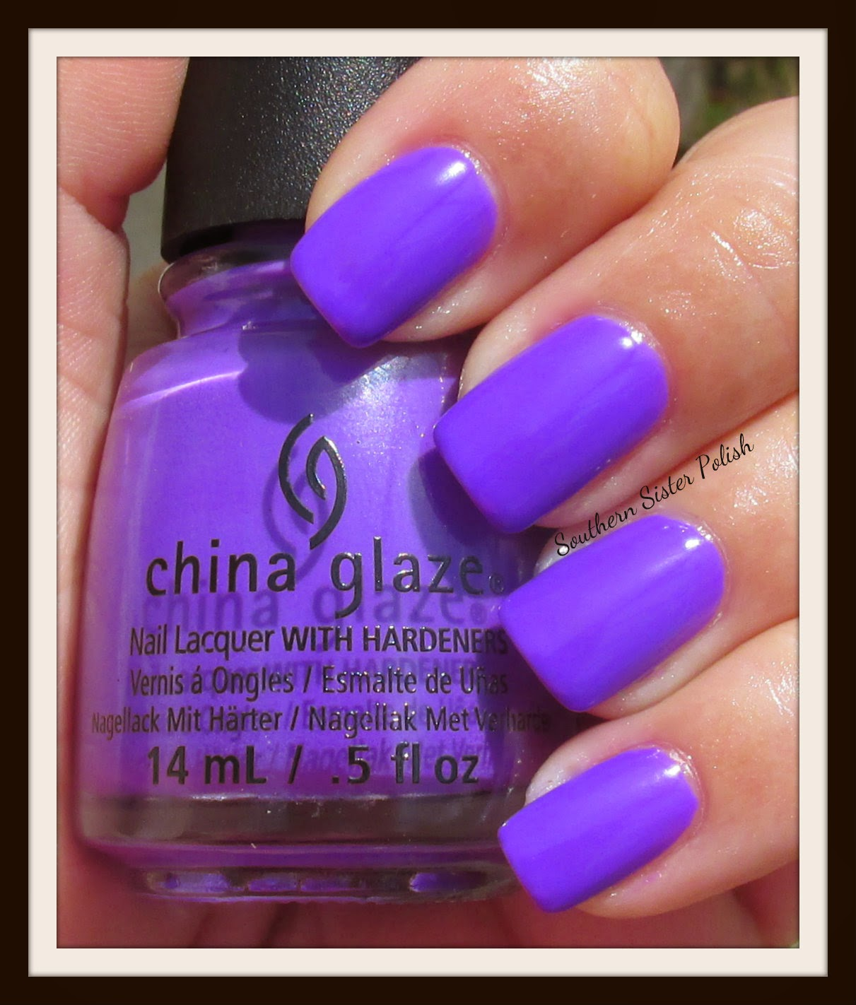 Southern Sister Polish: China Glaze Electric Nights swatch and review