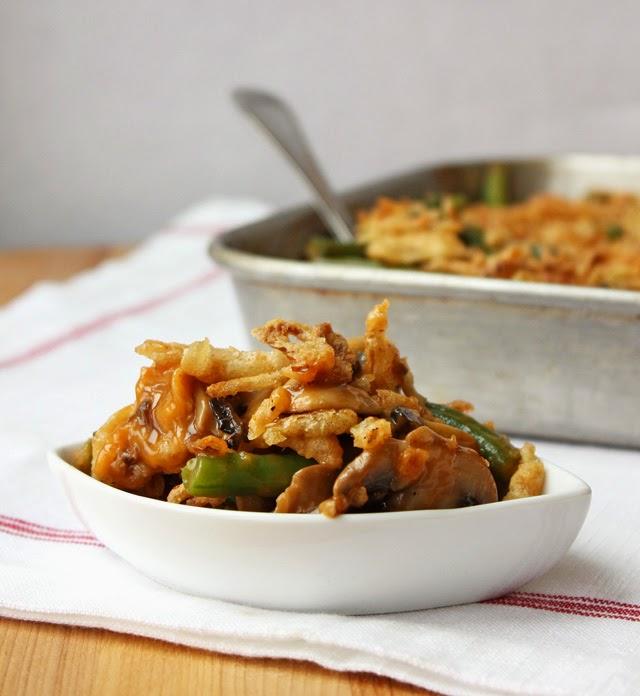 Fancy Green Bean Casserole | Recipe by chelsa-bea.com