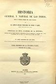 Historia general y natural de las Indias, islas y tierra-firme del mar océano (Volume 2 de 1557)