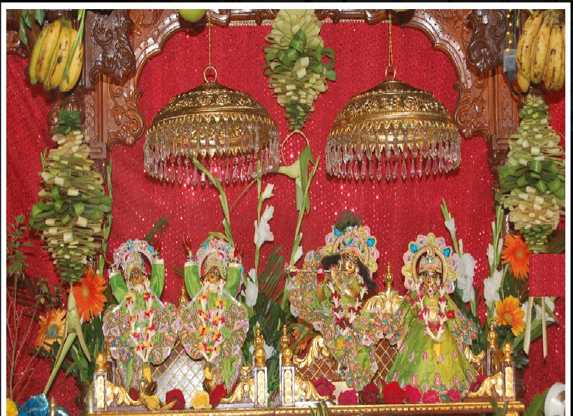 ISKCON Temple Kharghar (Maharashtra), India