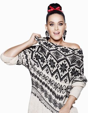 H&M campaña Navidad 2015 Katy Perry