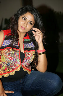 Actress Jyothi Latest Pictures in Jeans at Mosagallaku Mosagadu Movie Audio Launch  11