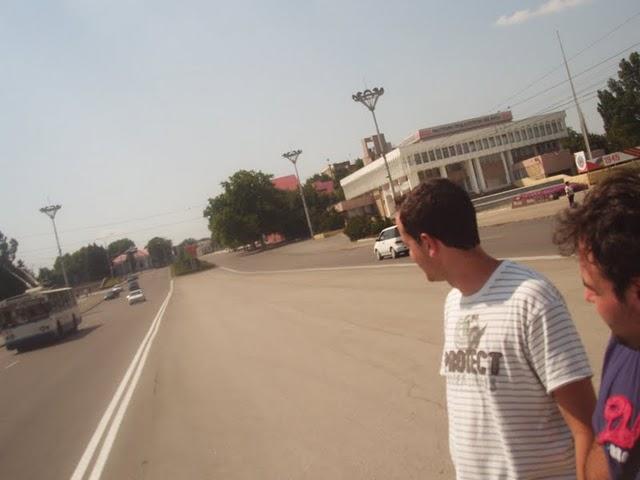calle principal de tiraspol Transnistria