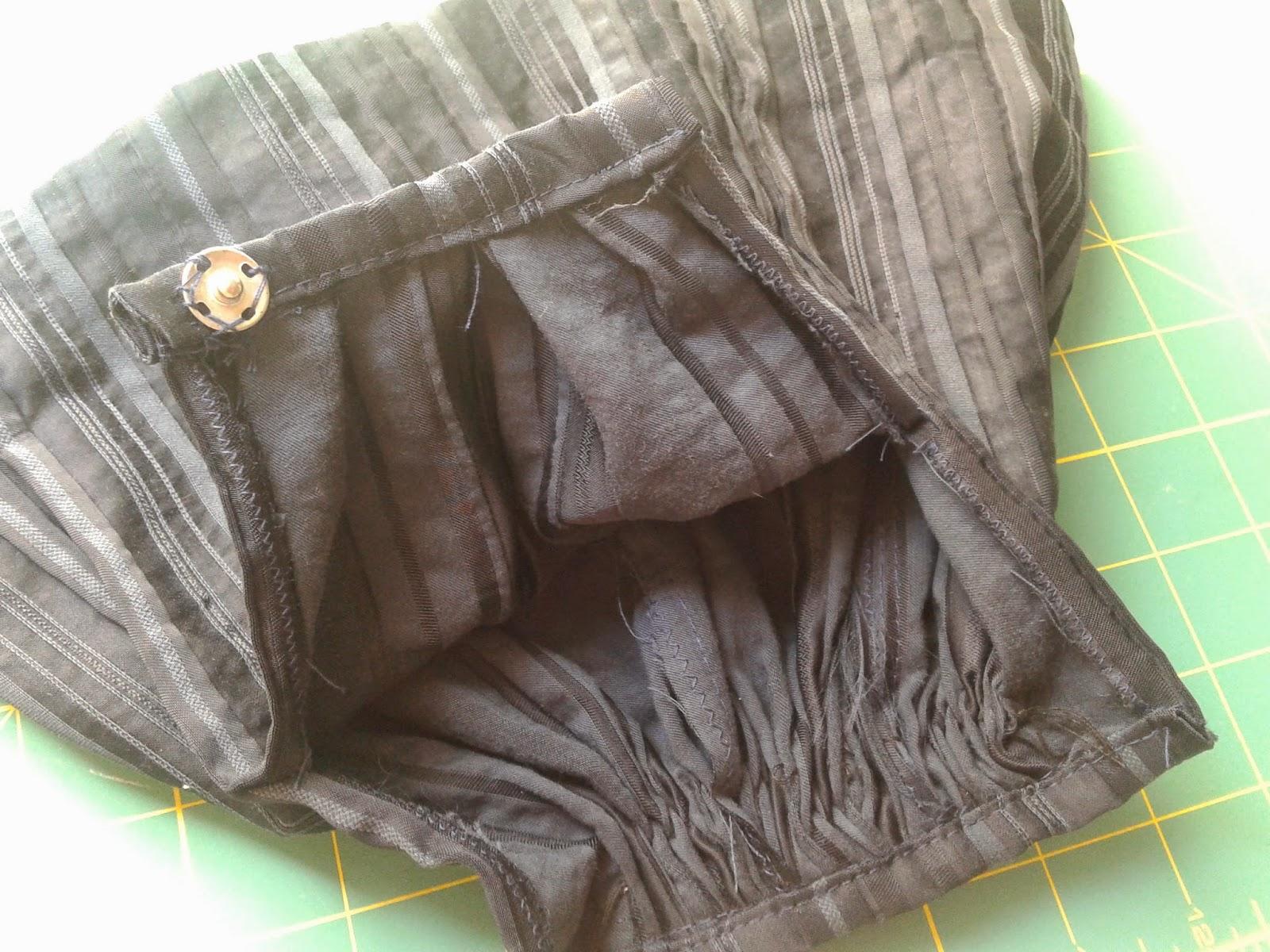 falda artesanal de jotera