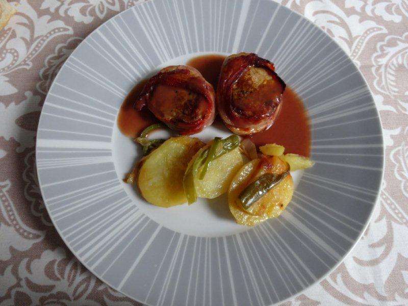 La cocina de garana medallones de solomillo con salsa de - Salsa de oporto para solomillo ...