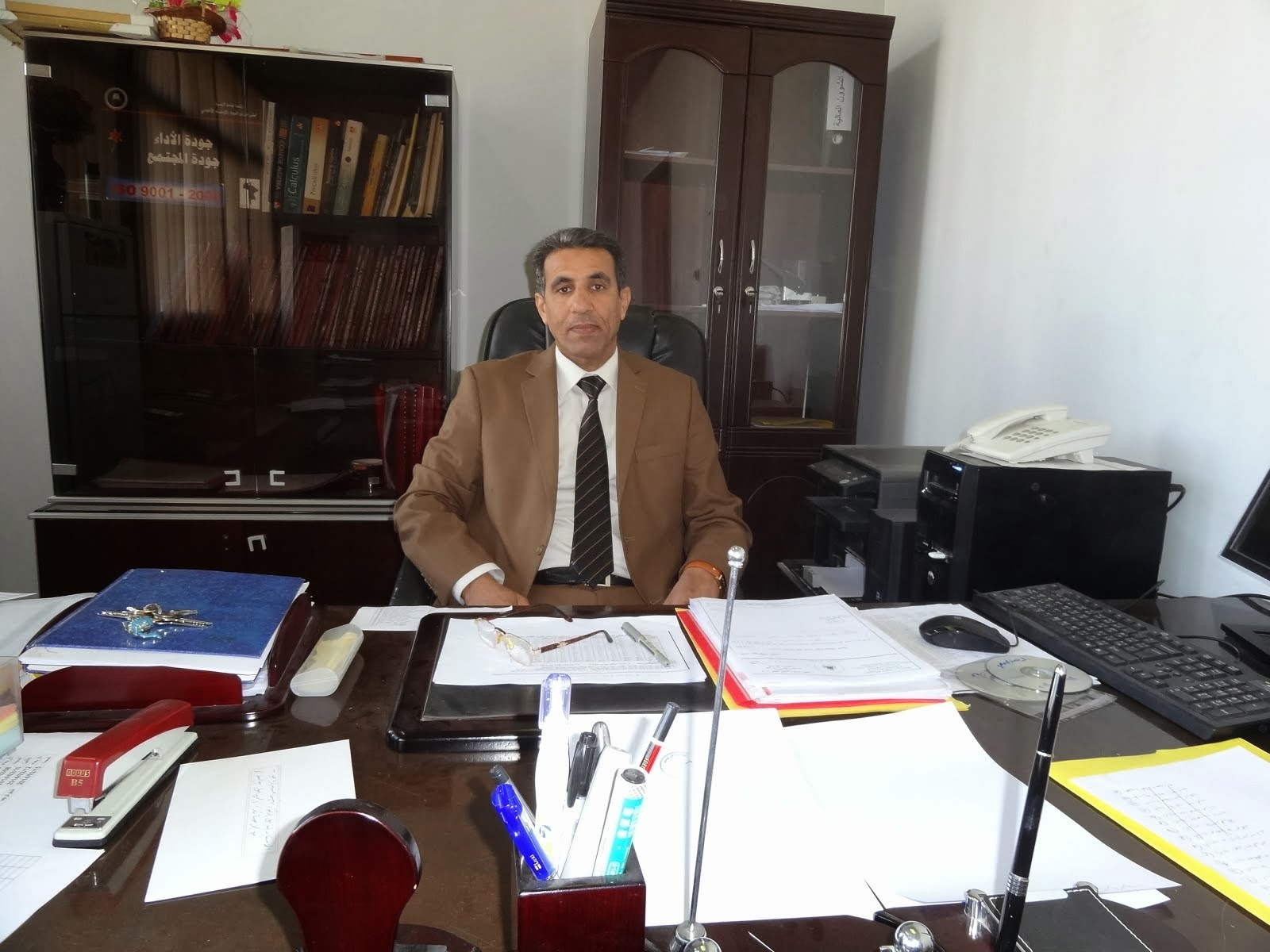 Head of Department of Mathematics, Dr. Habib Abboud matshar