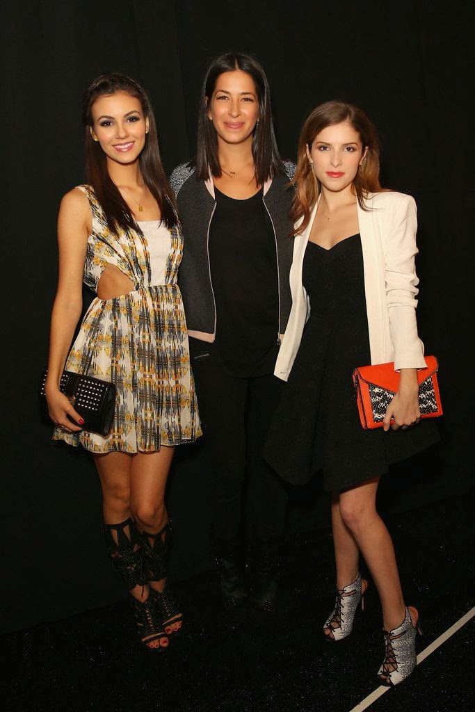 Eye Candy Actress Victoria Justice at Rebecca Minkoff Fashion Show