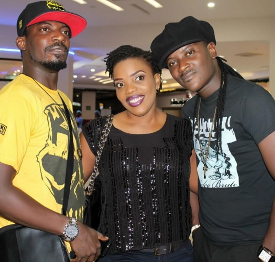 Empress Njamah On Movie Date With Brothers, Aquila & John Njamah