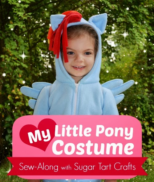 rainbow dash costume sewing tutorial