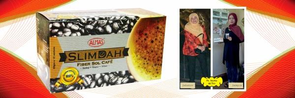 Image result for kopi slimdah almas testimoni