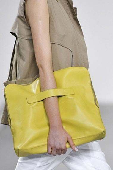 The Hottest Bags bright color of Victoria Beckham