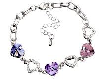 Swarovski Bracelet Heart6