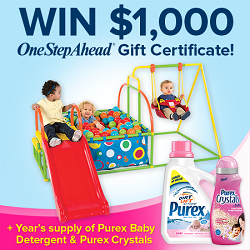 Enter To Win From Purex & One Step Ahead!
