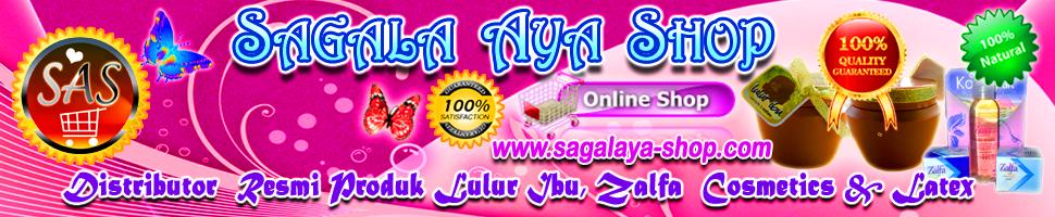DISTRIBUTOR  LULUR IBU | ZALFA COSMETICS | KASUR LATEX  | SAGALAYA-Shop.Com