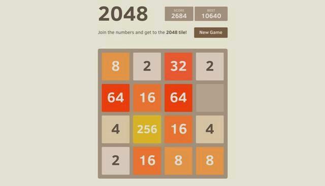 Aplicaciones para el entrenamiento cerebral 2048
