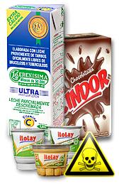 La leche argentina produce cáncer de colon, mamas y prósta