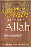 toko buku rahma: buku TELADAN CINTA PARA KEKASIH ALLAH, pengarang basam rusydi, penerbit pustaka marwa