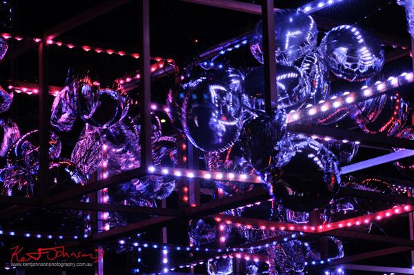 Vivid Sydney Light Sculpture 2012, CLOUDscape, by Kim Nguyen Ngoc, Nicolas Thioulouse, Victoria Bolton, Michael Day, Frank Maguire, Kristine Deray.
