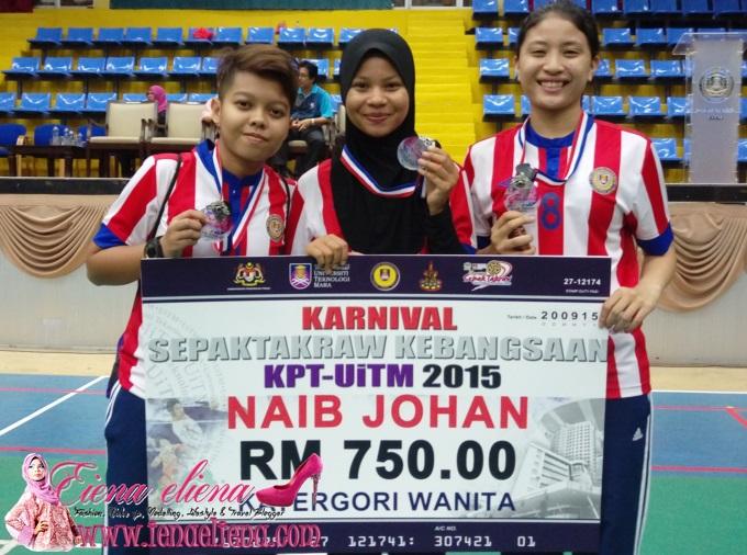 Karnival sepak takraw kebangsaan KPT-UiTM 2015