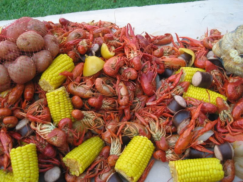 ... Cajun Cooking - Pure and Simple: How to Boil Shrimp, Crabs or Crawfish