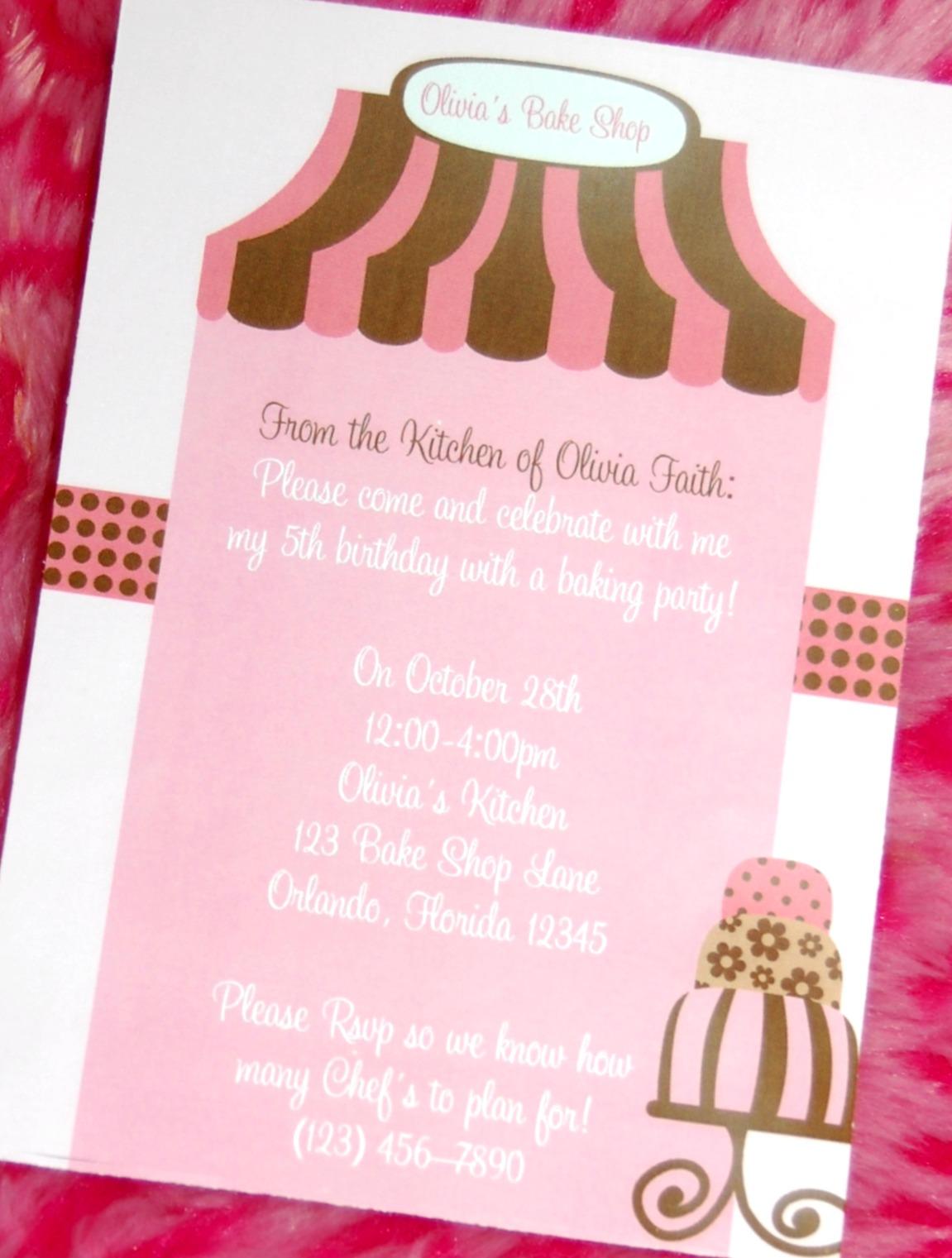 Eccentric Designs by Latisha Horton How to Make Invitations in
