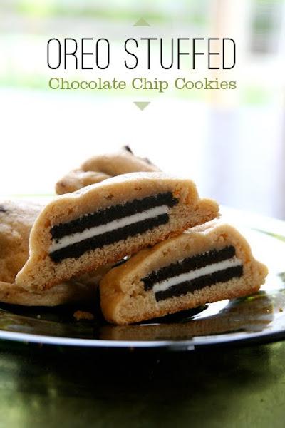 Sarah Fritzler: oreo stuffed chocolate chip cookies