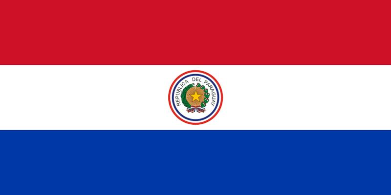 Bandera+entre+1954+y+1988.+Se+ ...