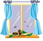 Tirai atau gorden merupakan salah satu hiasan yang sanggup kita tambahkan ke  Rancangan Memilih Tirai Jendela Rumah Minimalis