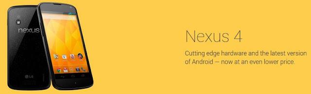Nexus 4 Price Cut