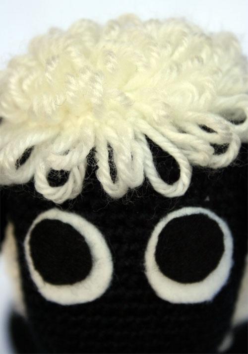 Occhi pecorella amigurumi