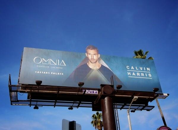 Calvin Harris Omnia Nightclub billboard