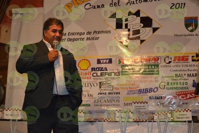ENTREGA DE LOS PREMIOS BALCARCE CUNA DEL AUTOMOVILISMO