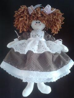 boneca de pano; boneca de tecido