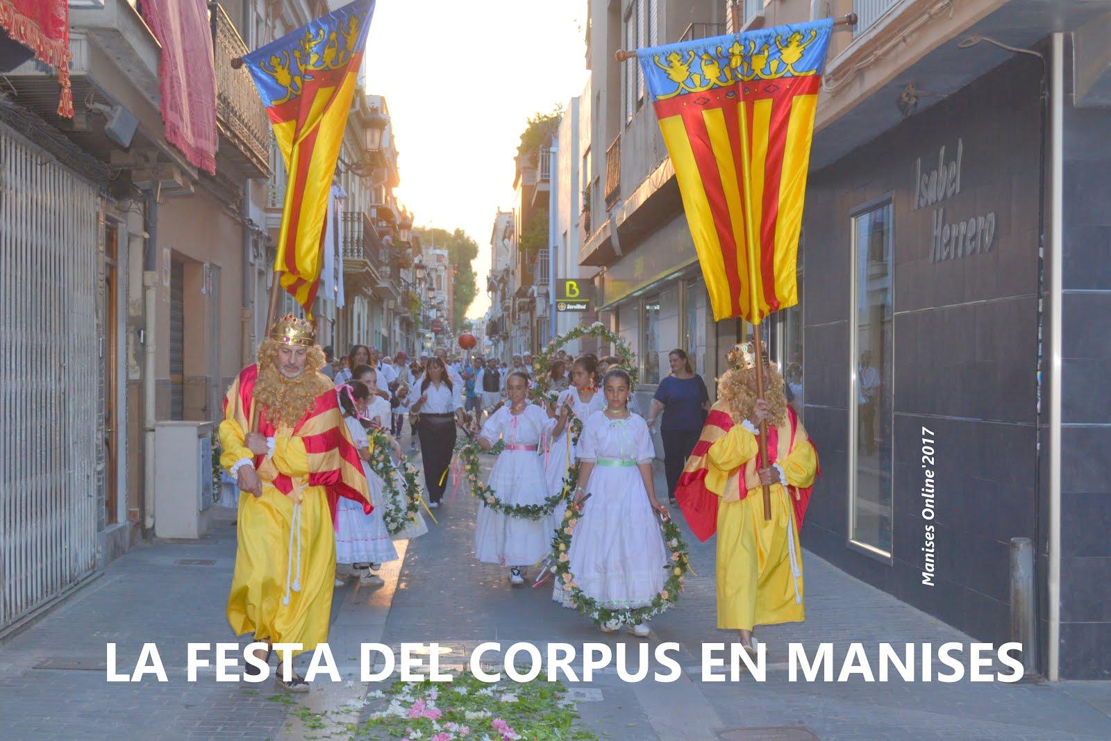 18.06.17 LA FESTA DEL CORPUS EN MANISES, UNA TRADICIO DE SEGLES
