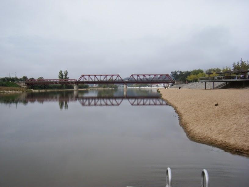 Rio Sorraia e Ponte de Coruche