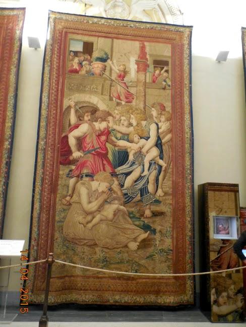 tapiterii la Muzeul Vatican
