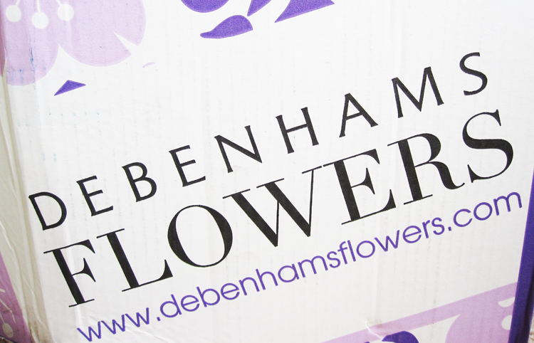 Debenhams Flowers Boho Bouquet review