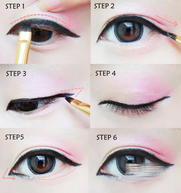 How to do asian eye makeup
