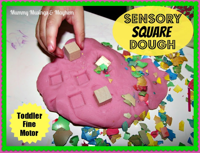Toddler Sensory Fine Motor Playdough