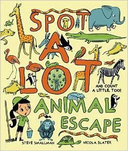 Spot A Lot! Animal Escape cover