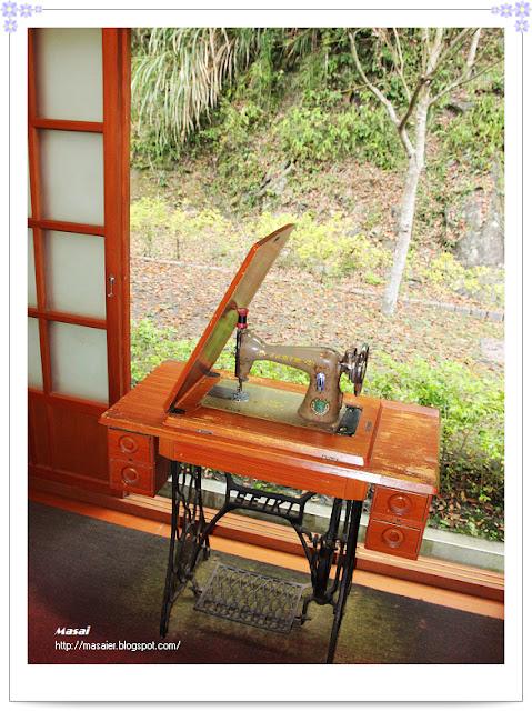 新竹五峰張學良故居-縫衣機
