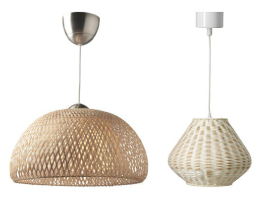 Woven Basket Lamp Shade : Upcycle wicker baskets zip ties new lampshade the