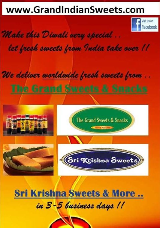 Shop online for Indian sweets -Click on the Image