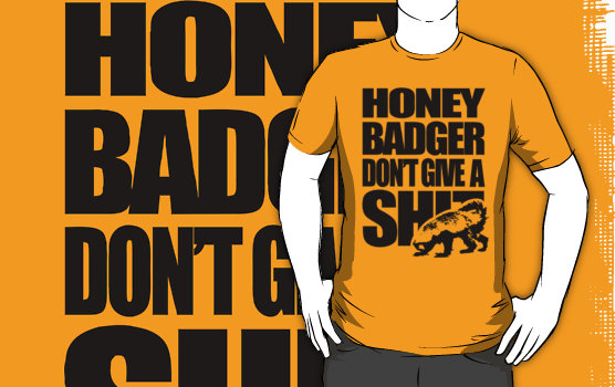honey badger randall. honey badger randall. dave