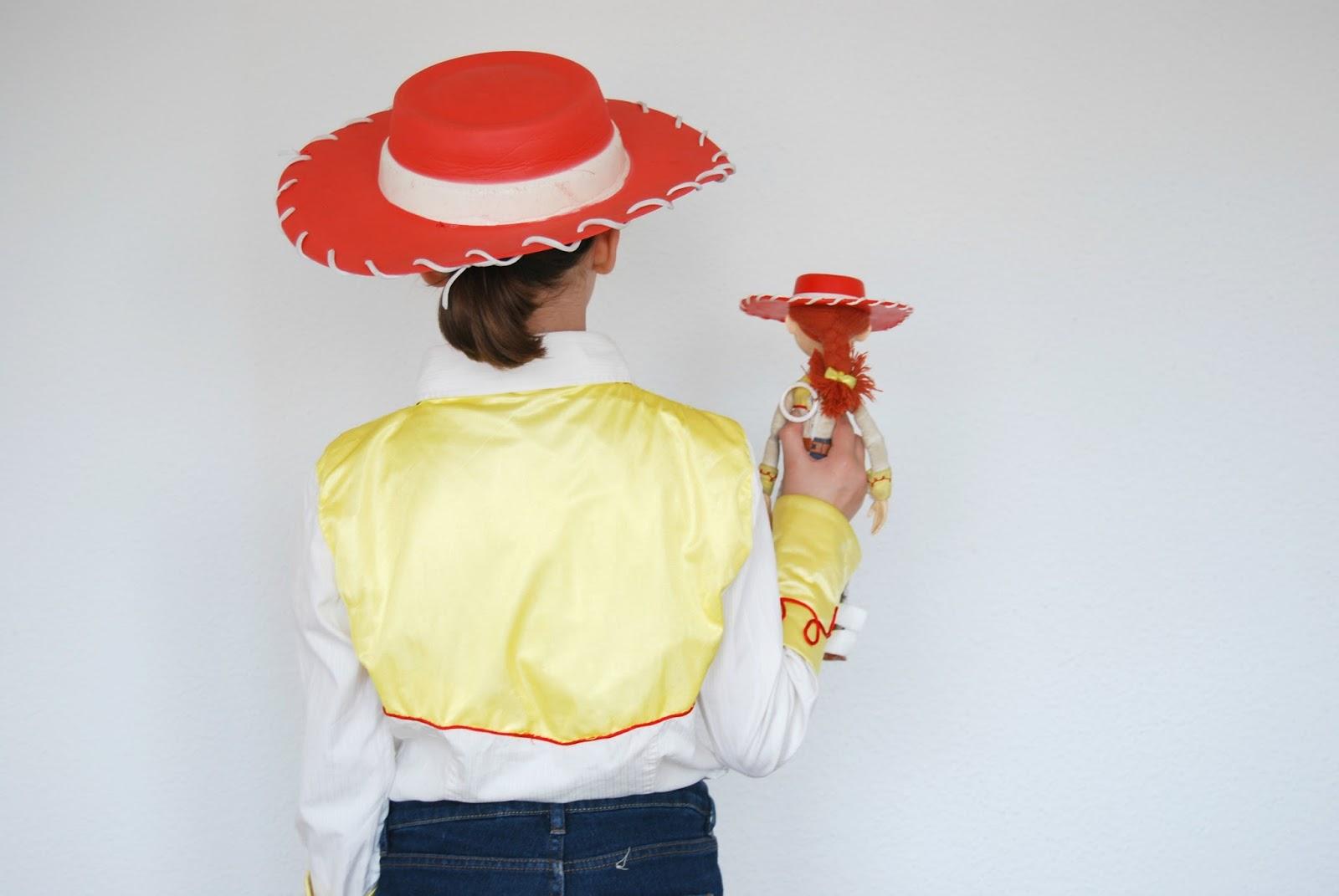 disfraz Jessie la vaquera hecho en casa. Handmade Jessie from Toy Story  costume 5e43cf039de