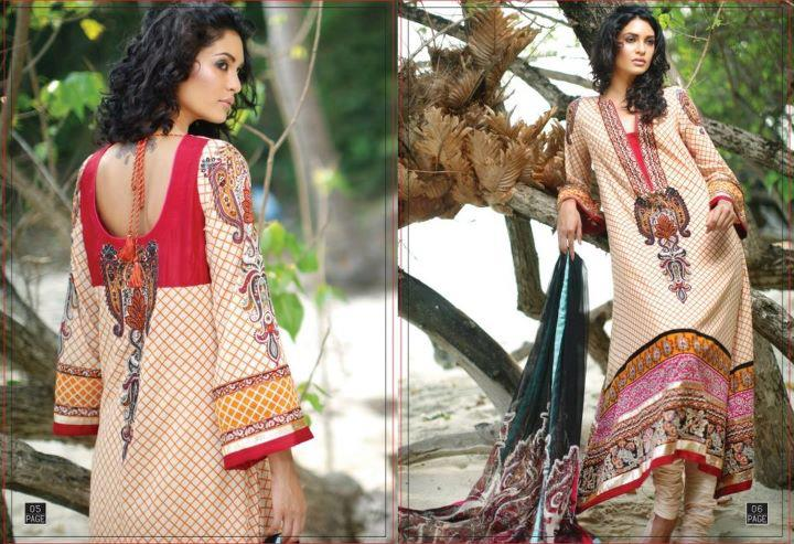 LSM Summer Collection 2012 | Summer Lawn Dresses @ Lakhani LSM Lawn